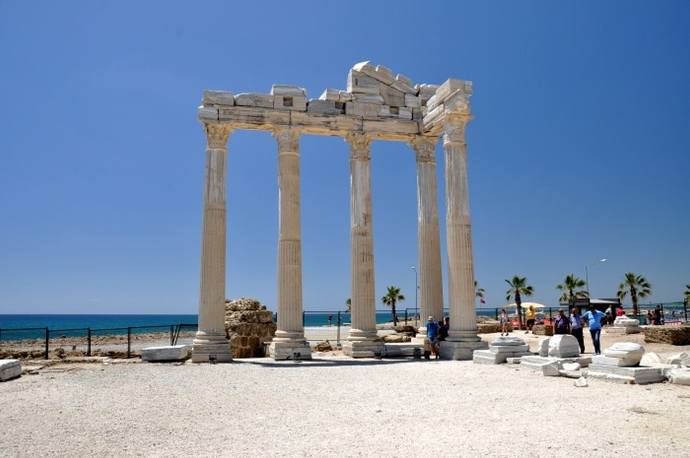 The Temple of Apollo in Side