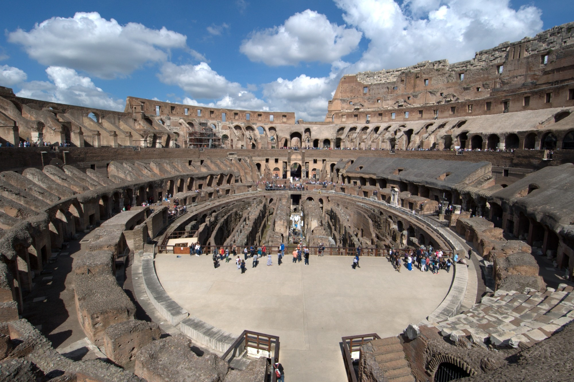Flavian Amphitheater in Rome