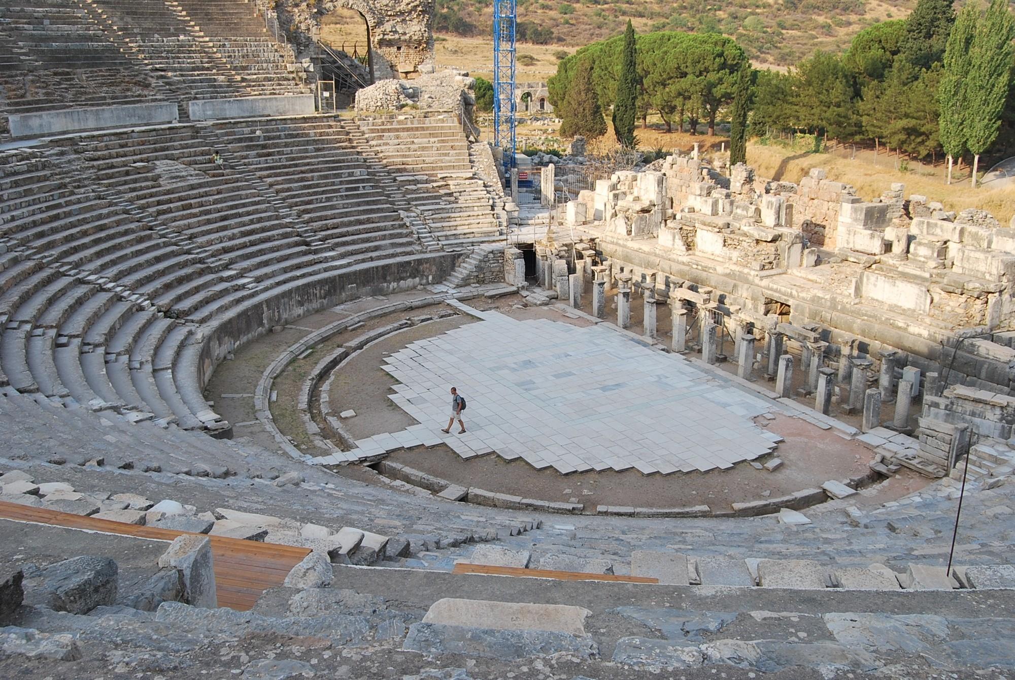 Ancient theatre in Ephesus