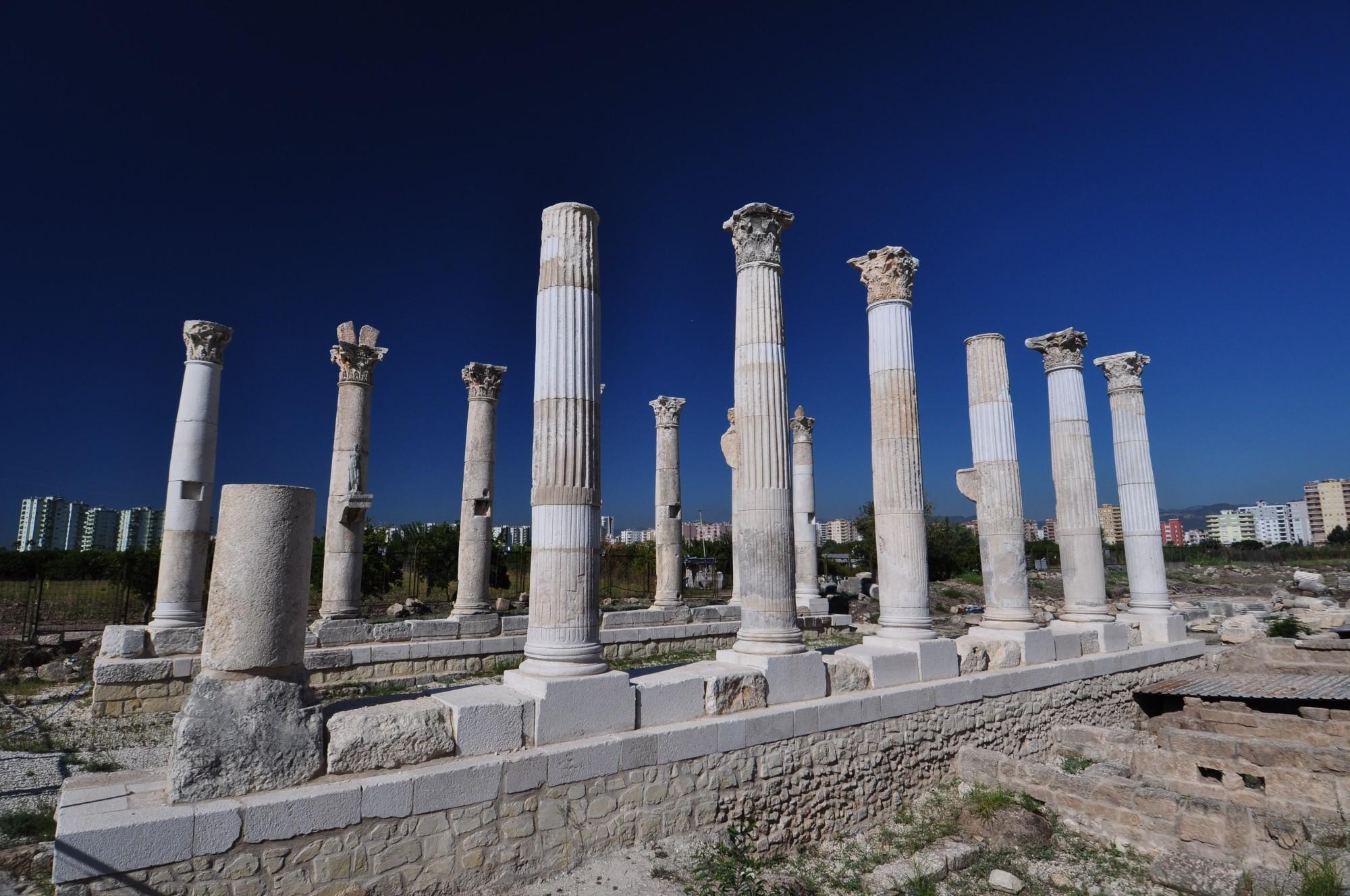 The ruins of Soli (Pompeiopolis)