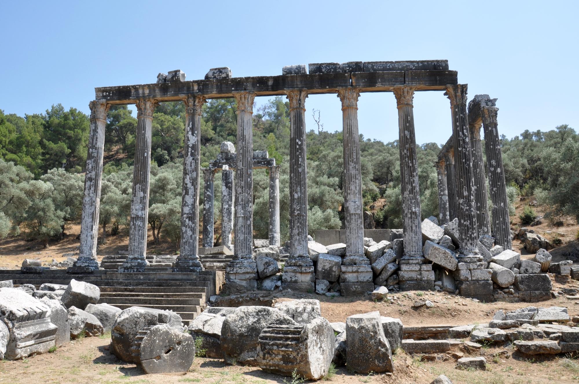 Temple of Zeus in Euromos