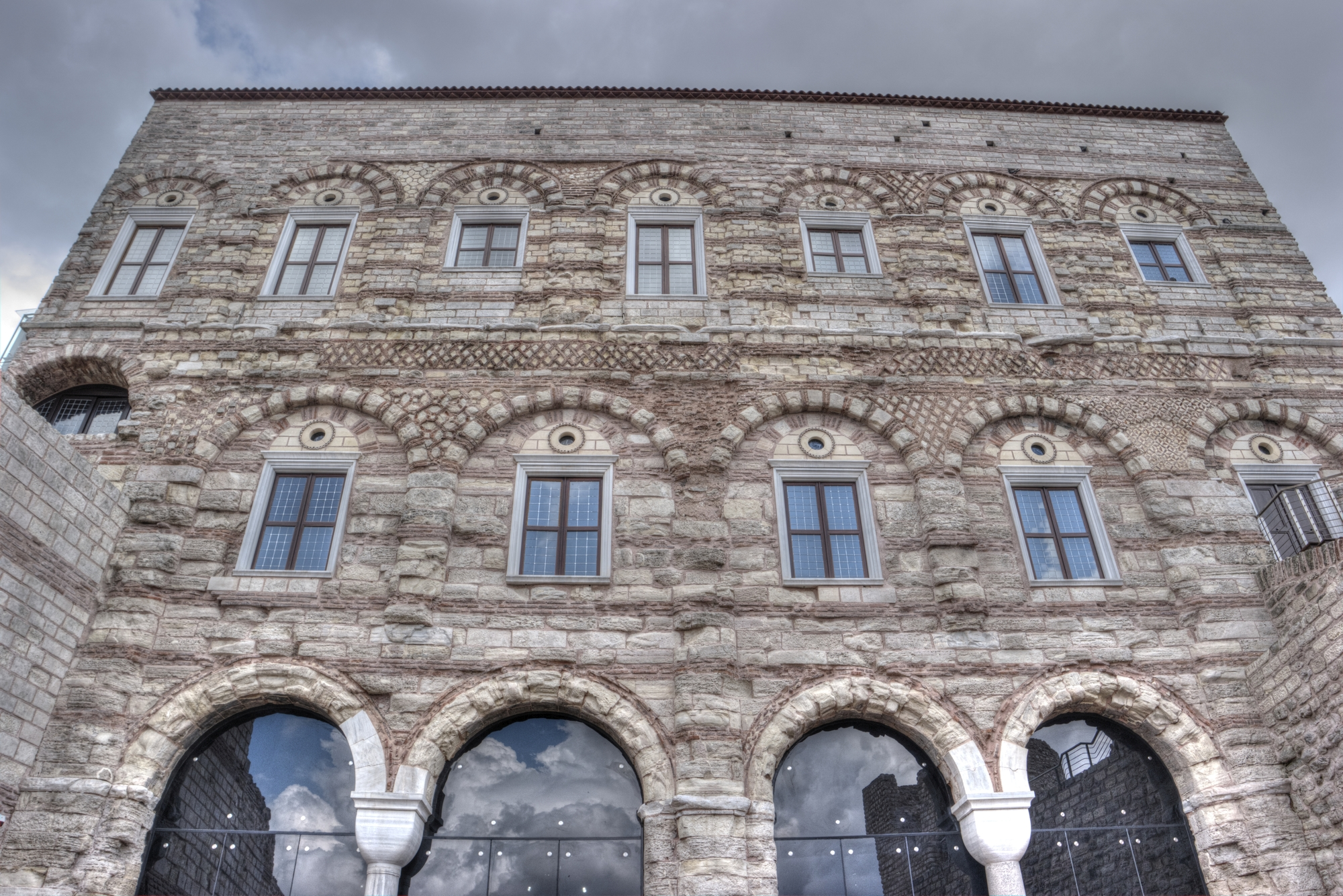 Restored Blachernae Palace Complex in Istanbul