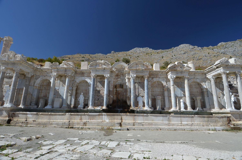 Antonine Nymphaeum in Sagalassos