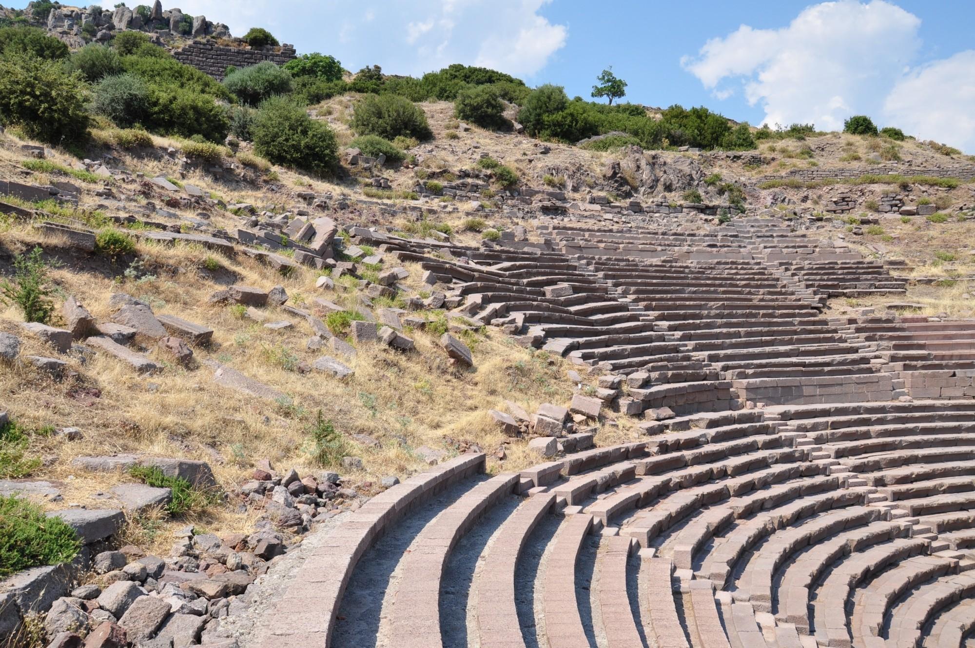 Theatre in Assos