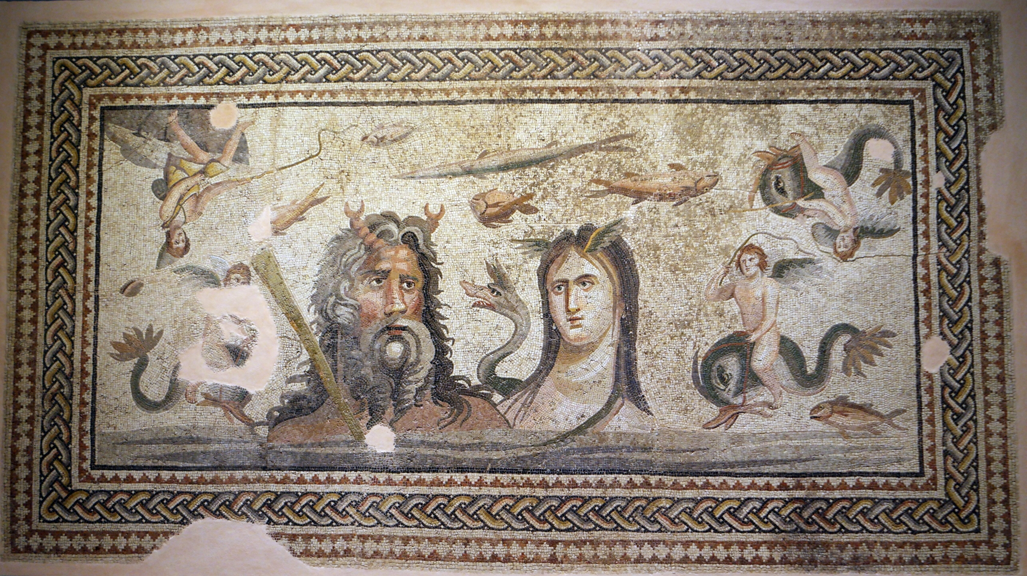 The Oceanos and Tethys Mosaic from Zeugma