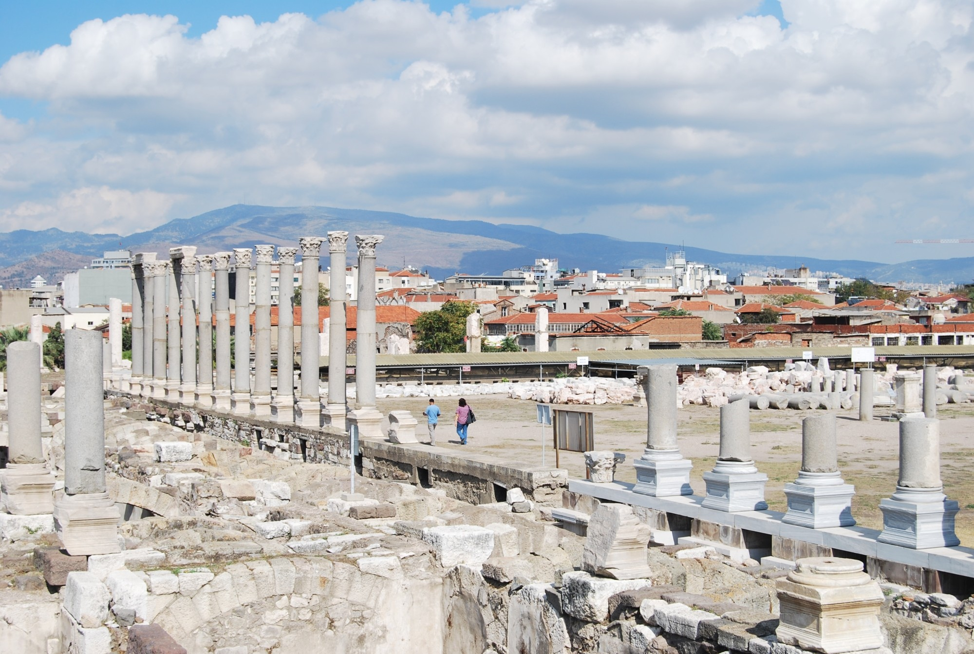 The Agora of Smyrna (Izmir)