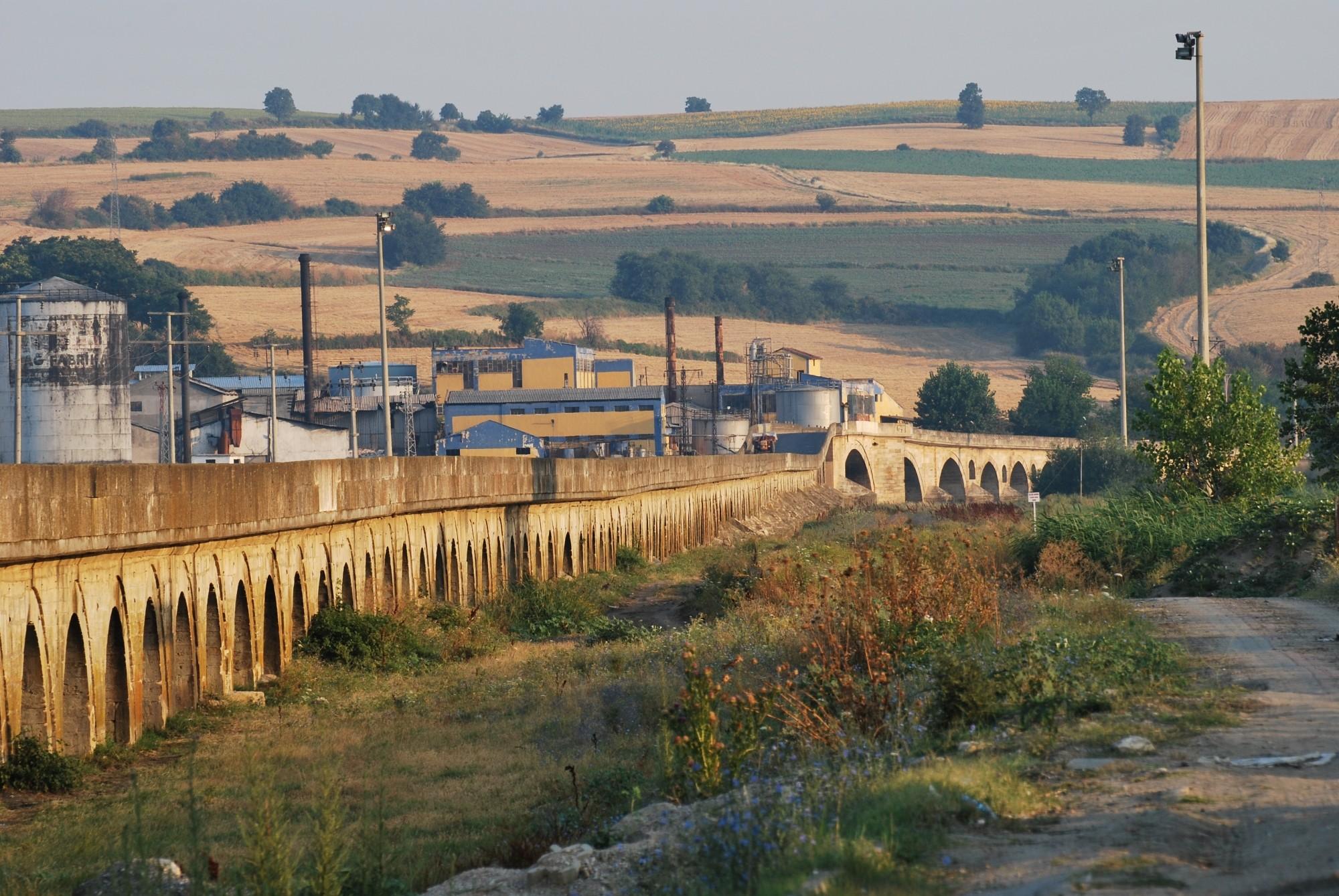 Uzunköprü Bridge - to be registered in the Guinness Book of World Records
