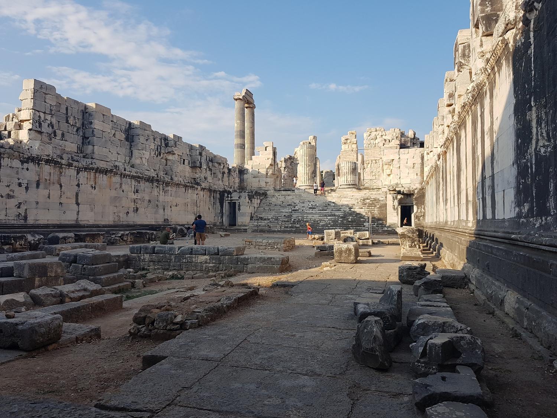 The Temple of Apollo in Didim, July 2019