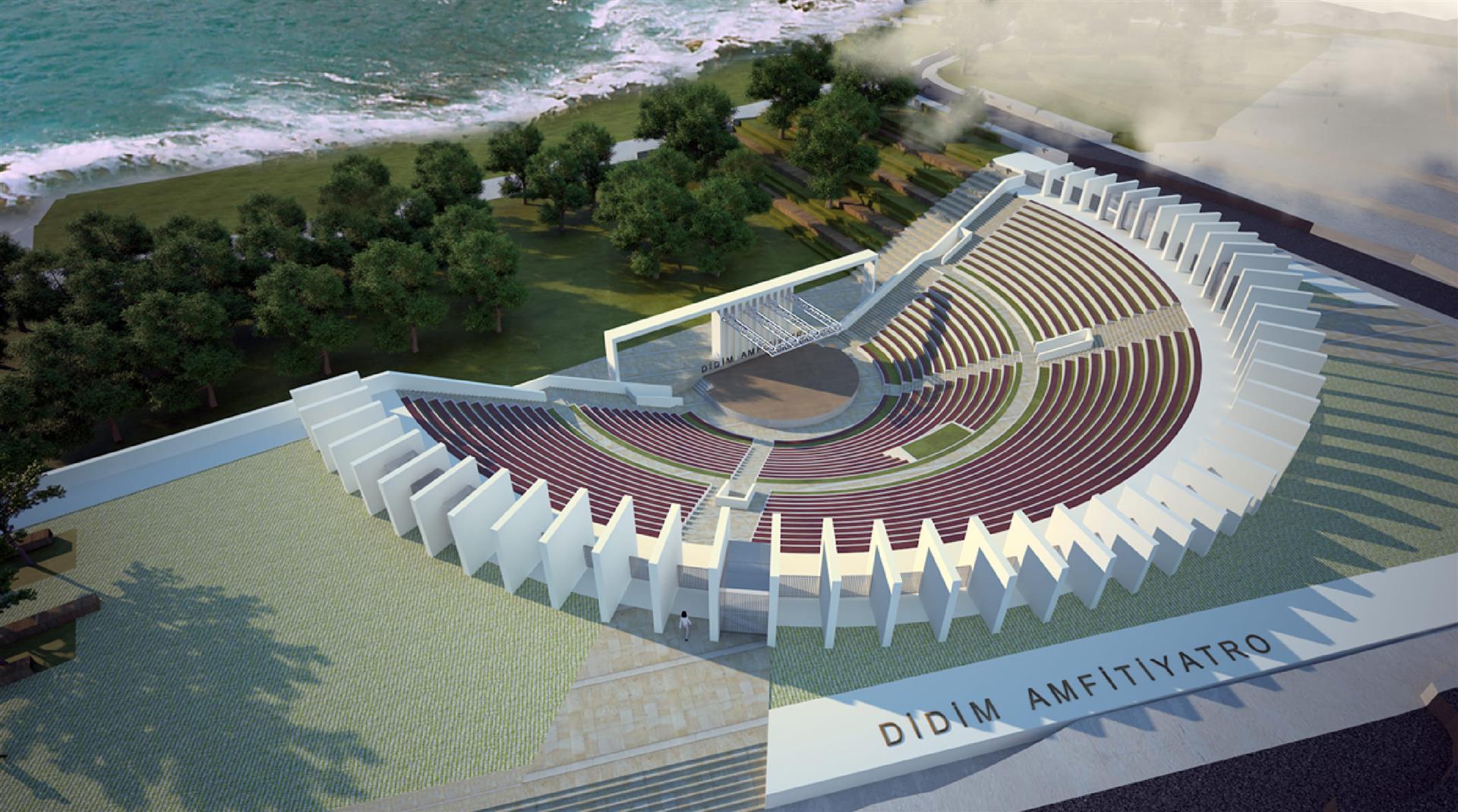 "Suggested ""amphitheatre"" in Didim"