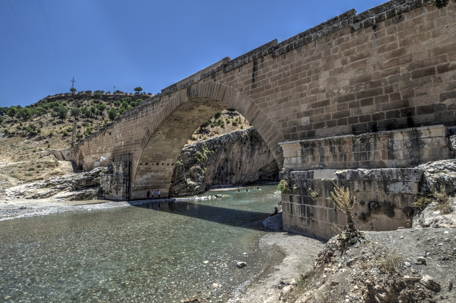 Severan Bridge over Cendere River