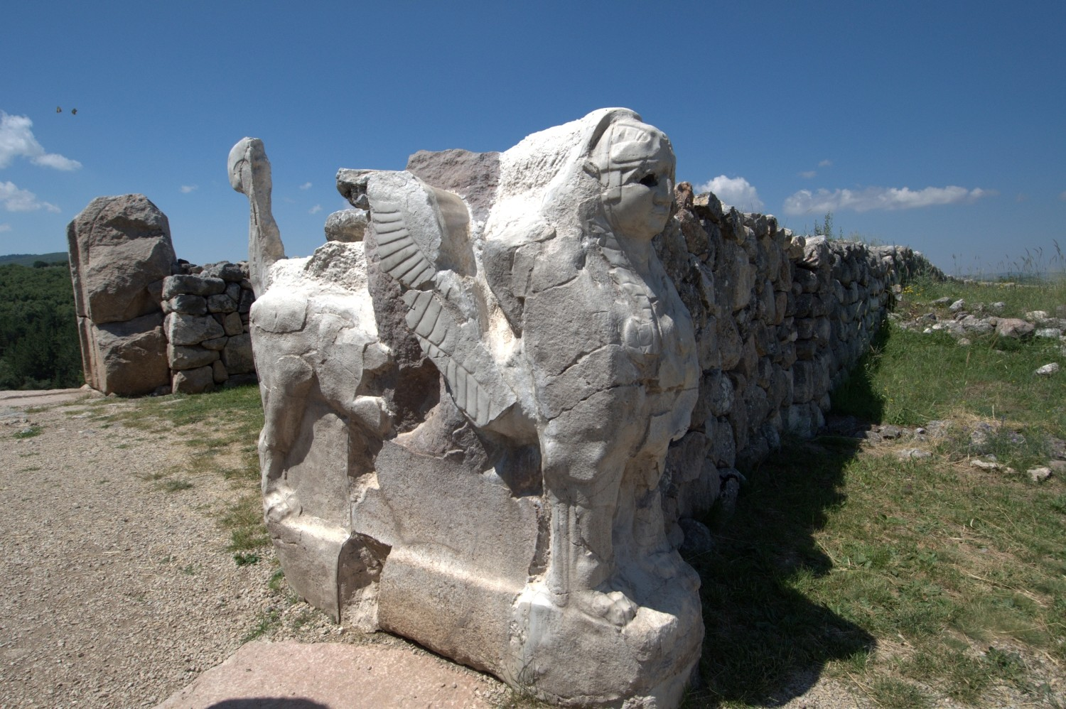 Sphinx Gate in Hattusas