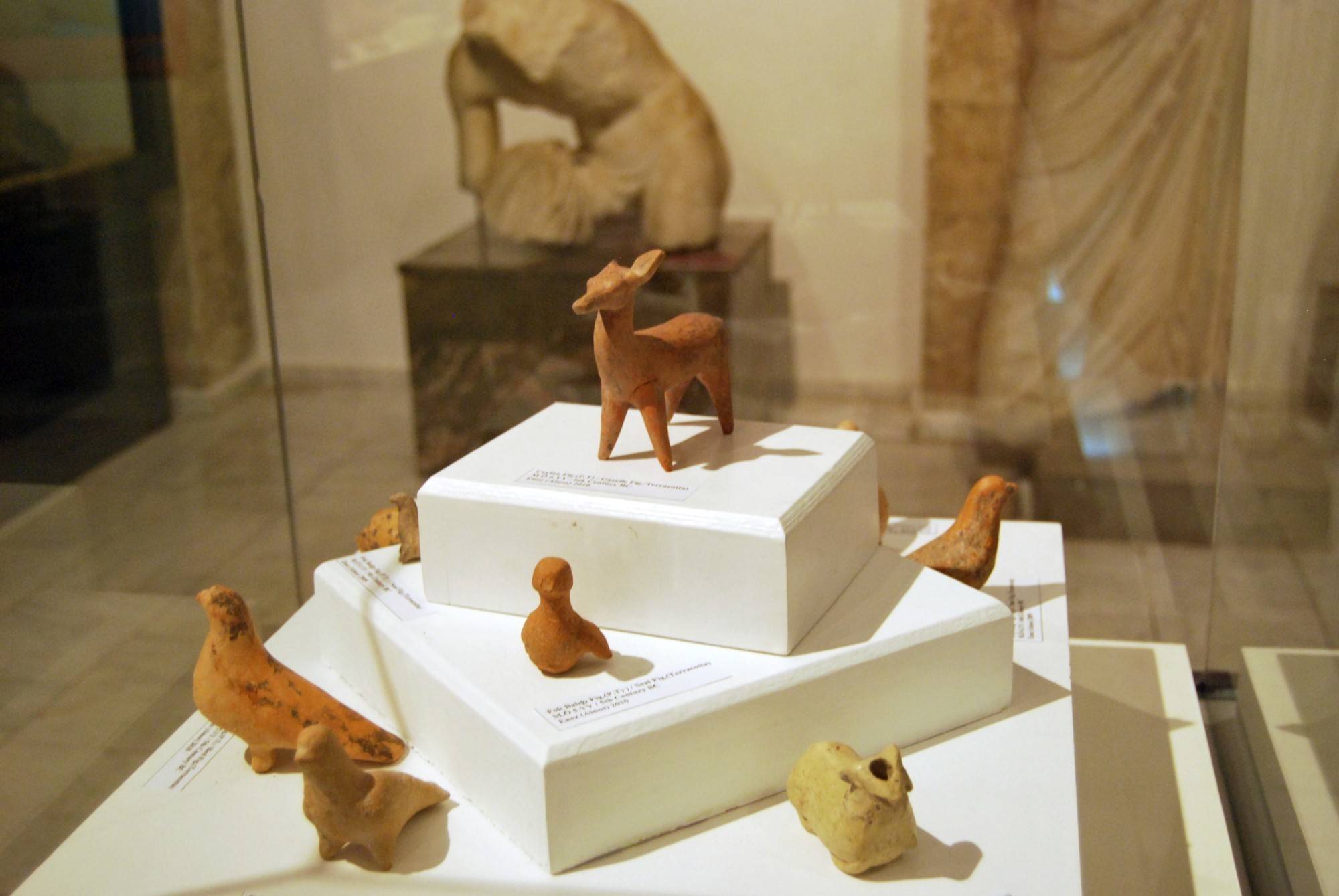 Terracotta figurines from Enez, Archaeological and Ethnographic Museum in Edirne