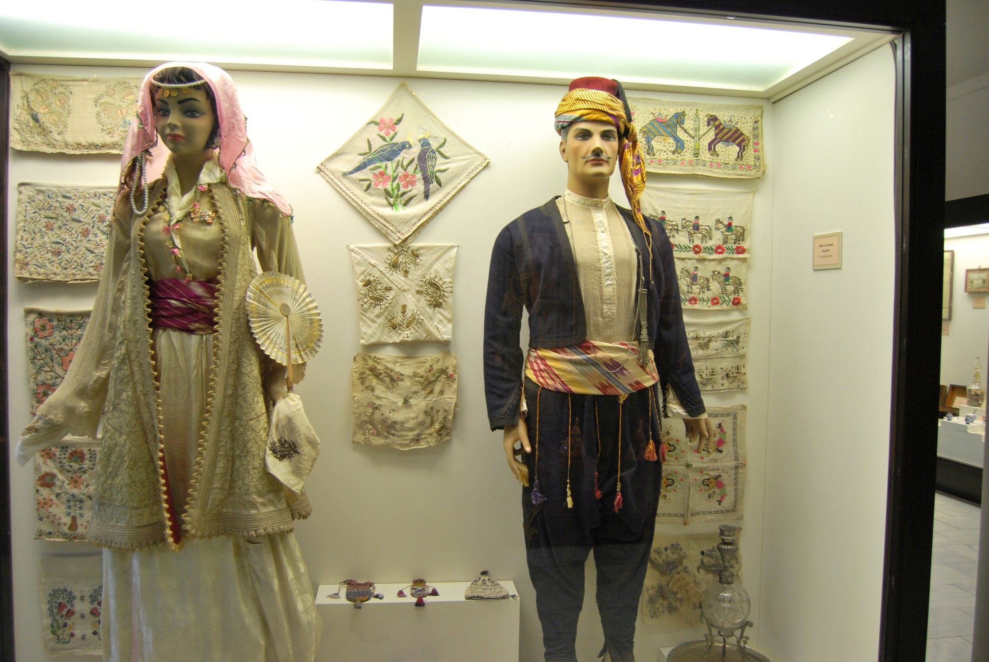 Ottoman-era clothes, Archaeological and Ethnographic Museum in Edirne