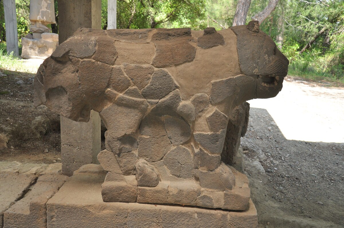 Sculpture from Karatepe-Arslantaş archaeological site