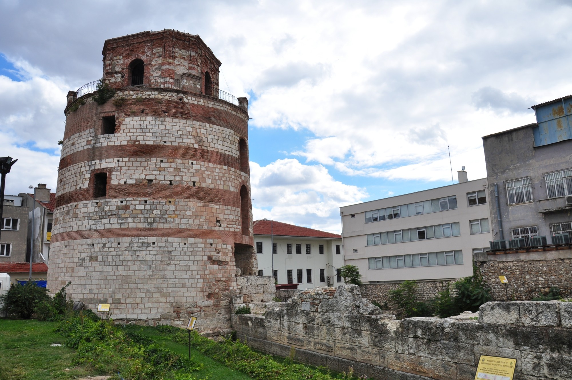 Fortifications and Macedonian Tower in Edirne