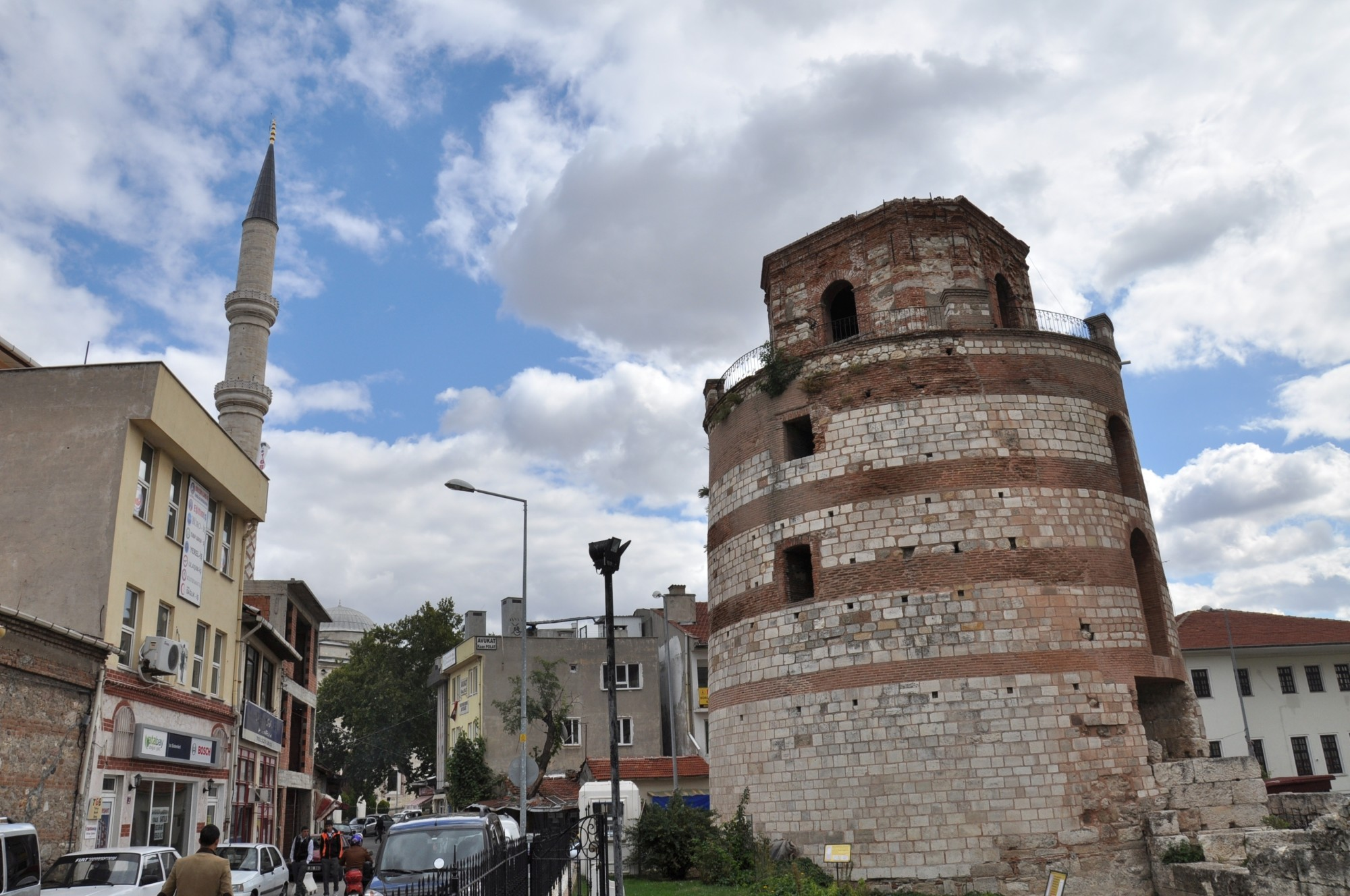 Macedonian Tower in Edirne