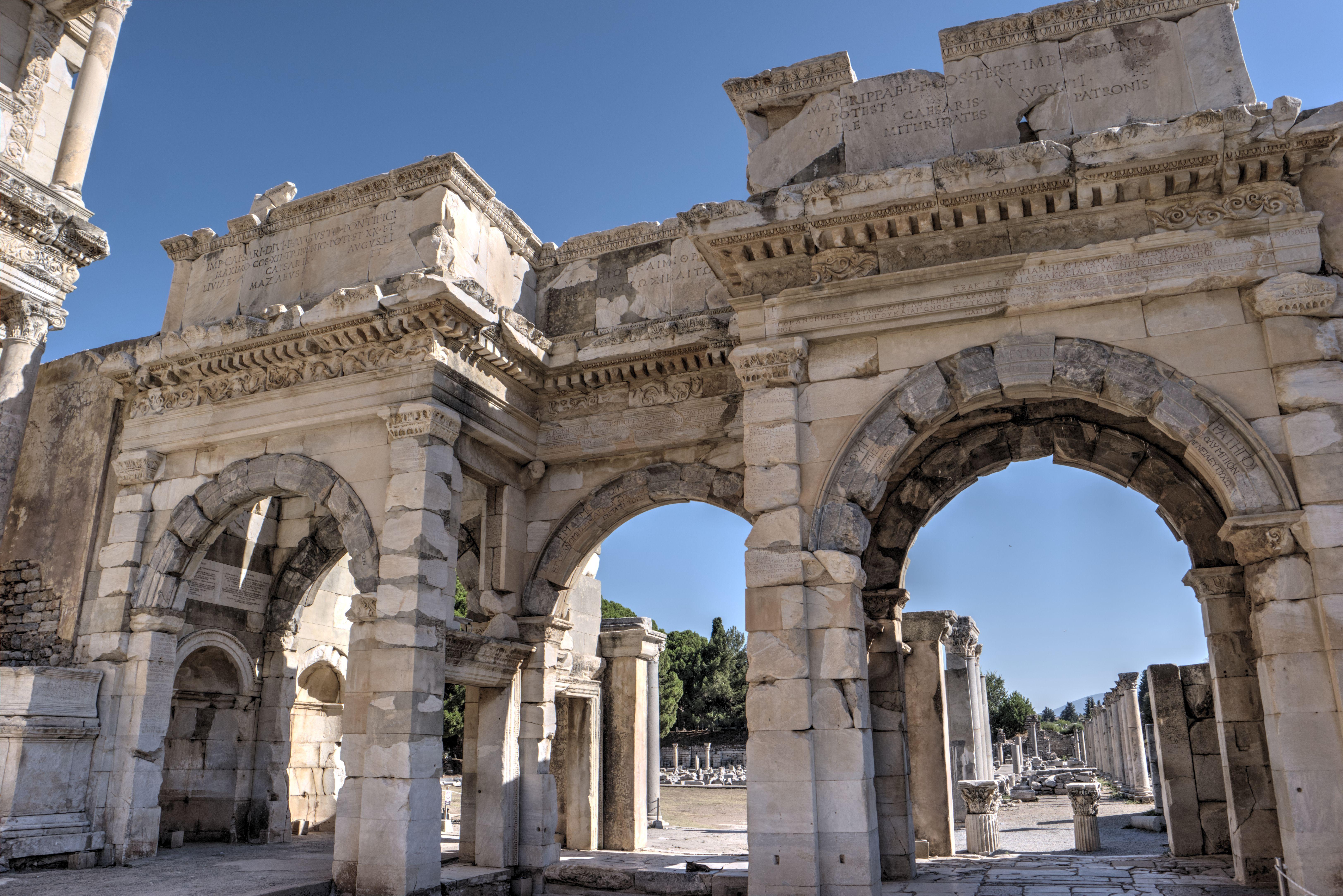 Gate of Mazaeus and Mithridates in Ephesus