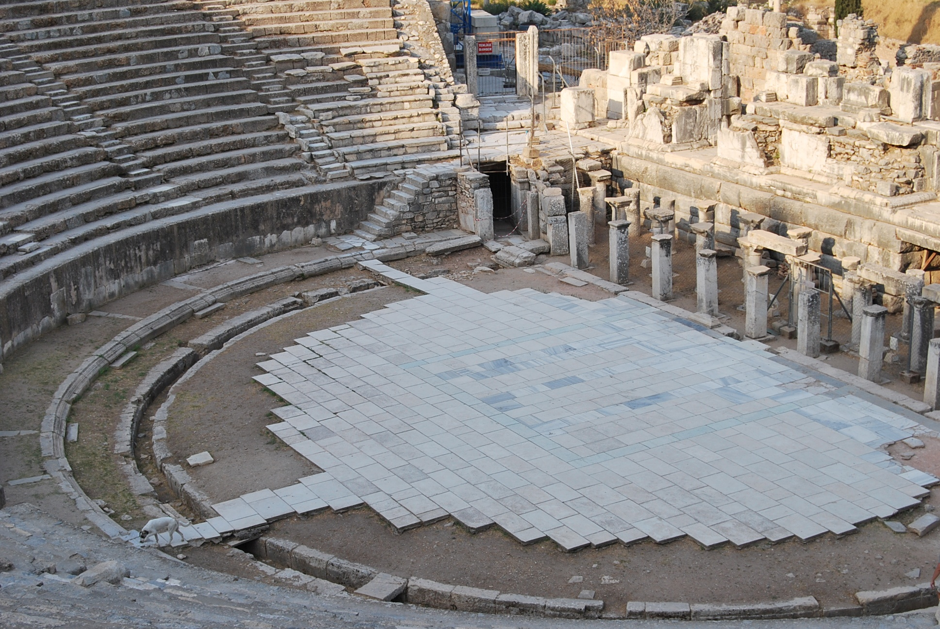 Great Theatre In Ephesus Turkish Archaeological News