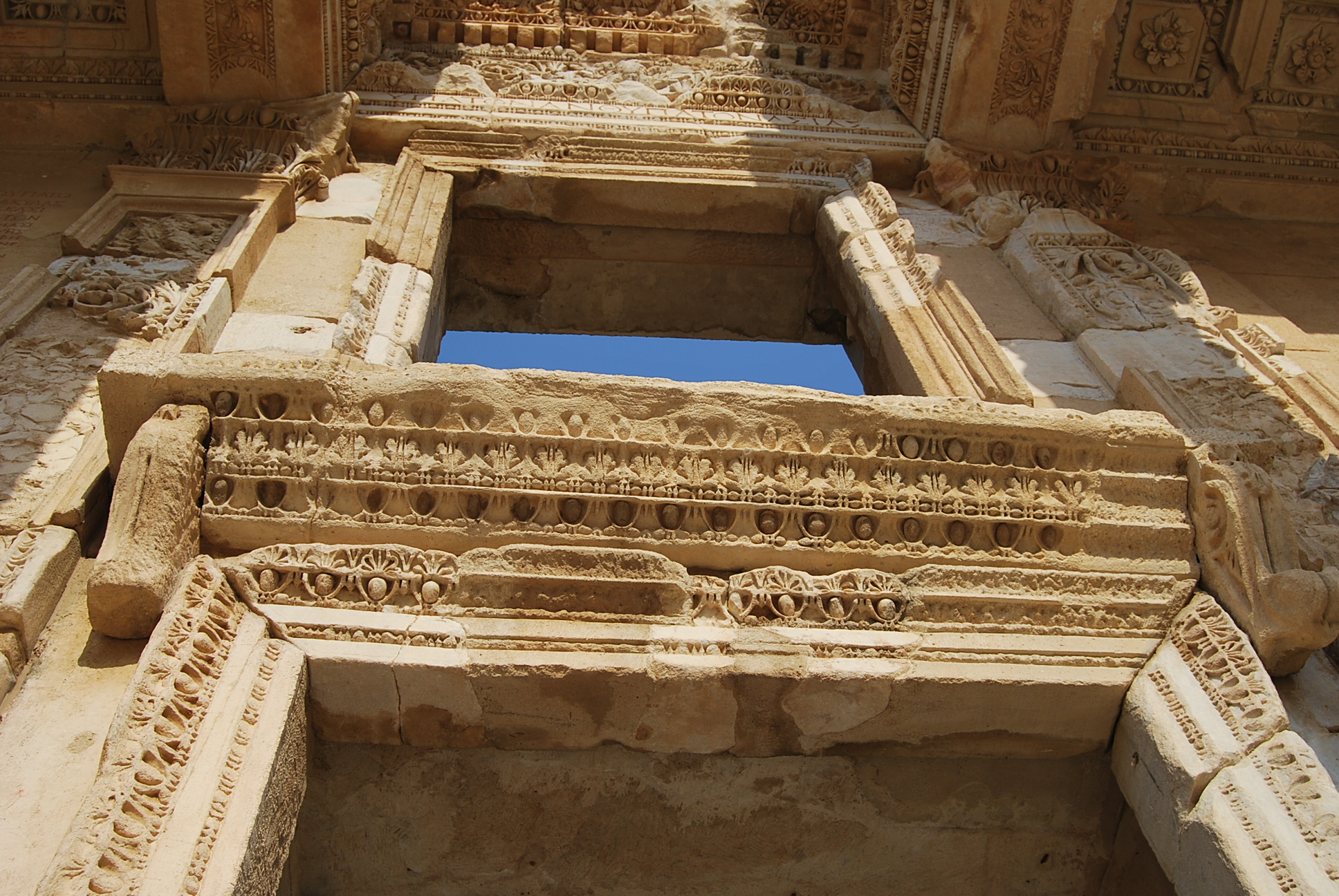 Library Of Celsus In Ephesus Turkish Archaeological News