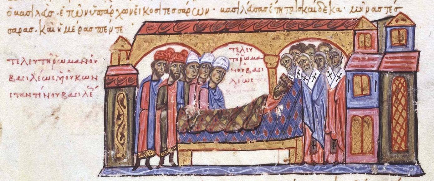 Śmierć cesarza Romana II
