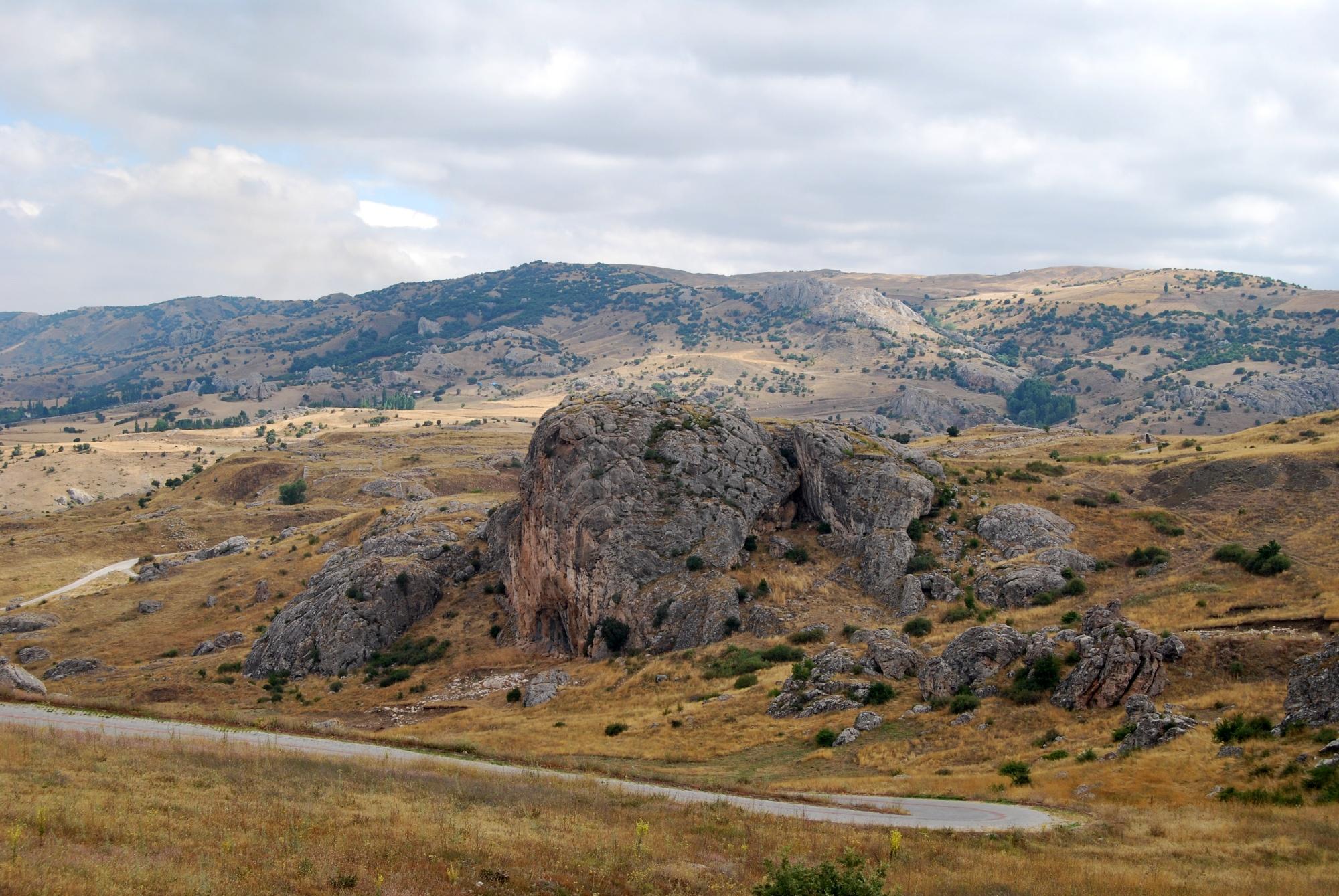 Sarıkale in Hattusa