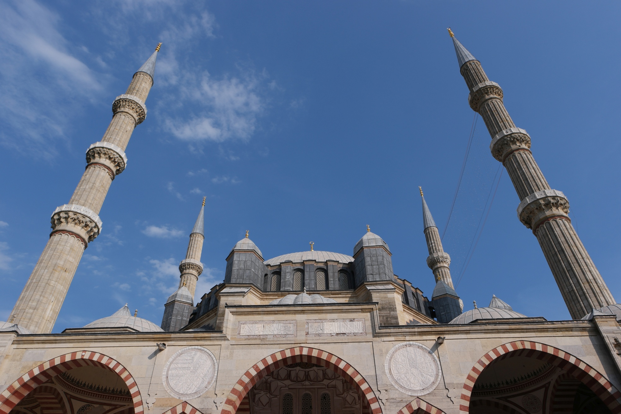 Selimiye Mosque In Edirne Turkish Archaeological News