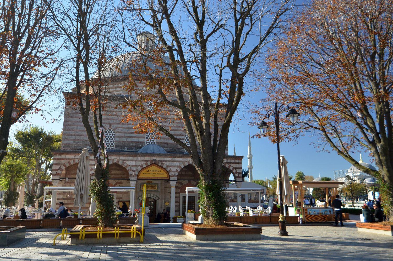 Łaźnie Roksolany (Haseki Hürrem) - wzniesione w miejscu Łaźni Zeuxippusa