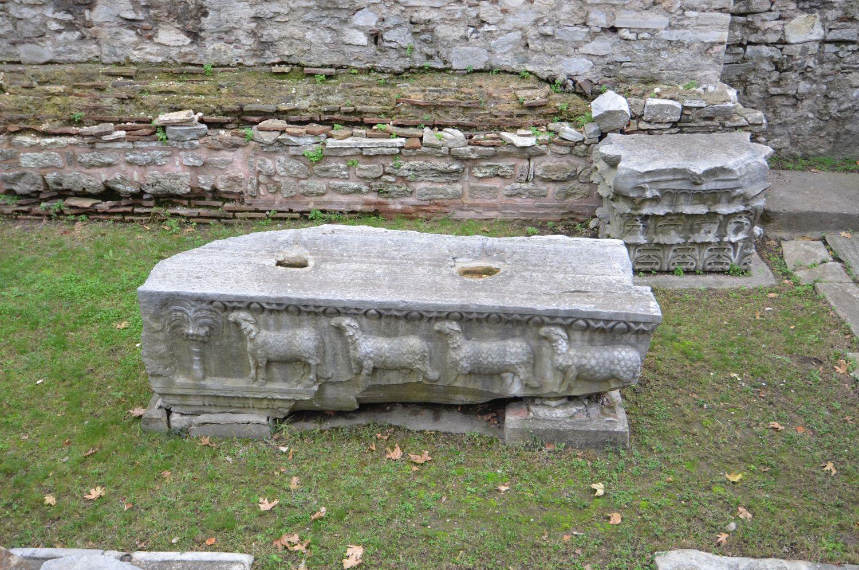 Fragmenty architektoniczne drugiej Hagia Sophii