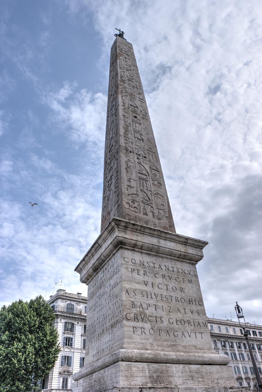 Obelisk Laterański w Rzymie