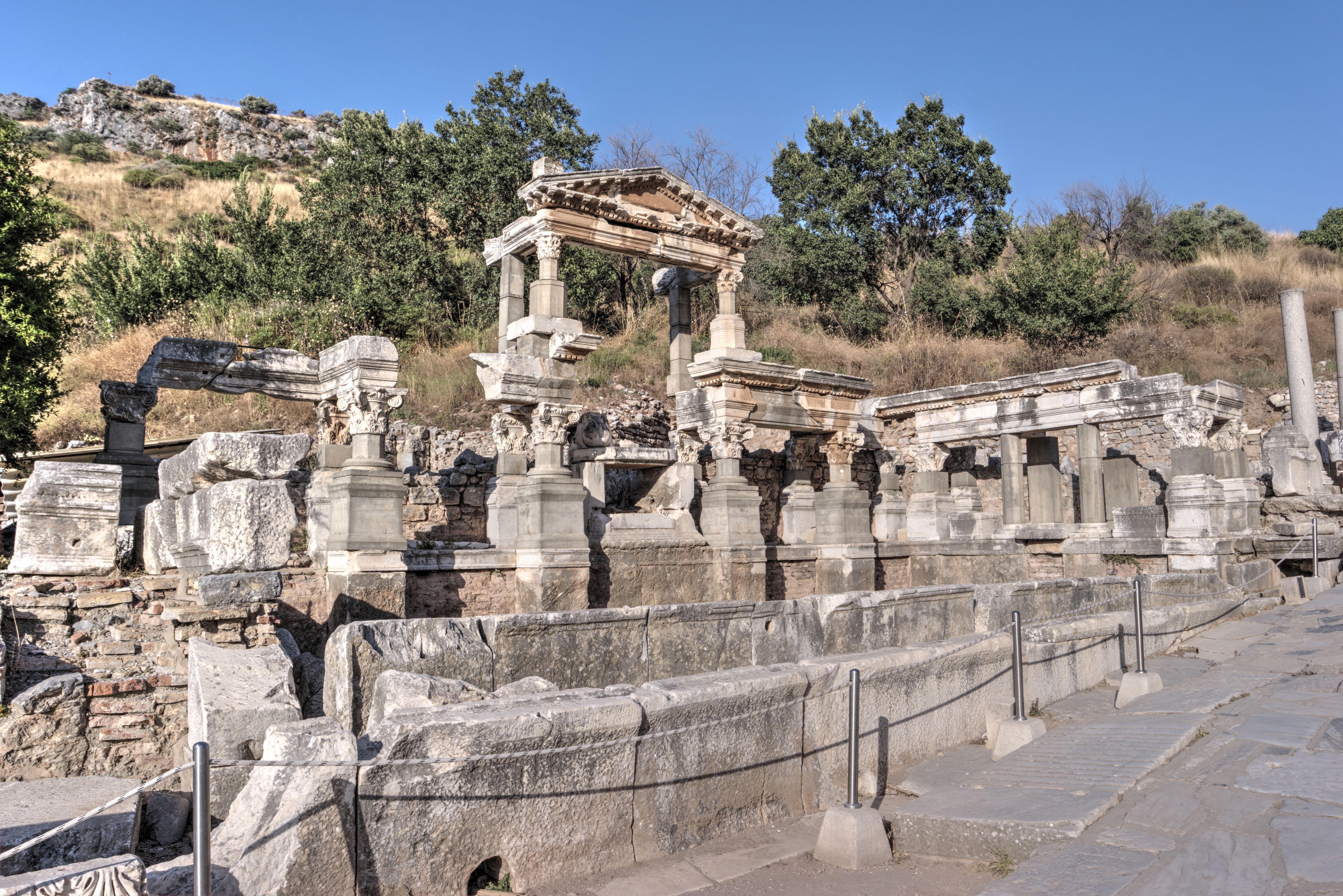 Trajan's Nymphaeum in Ephesus