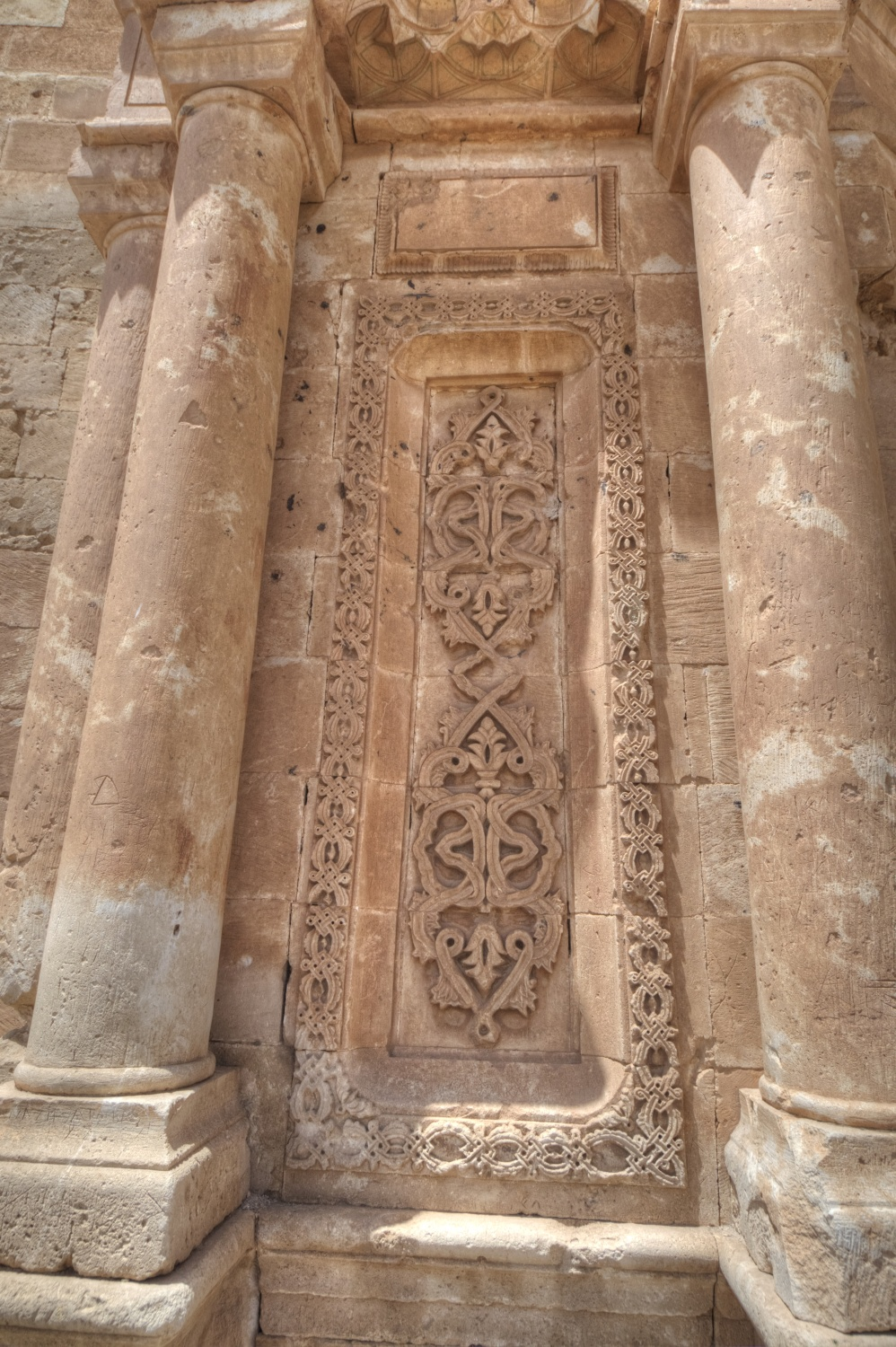 ... Ishak Pasha Palace - the entrance portal detail 52a8a12877