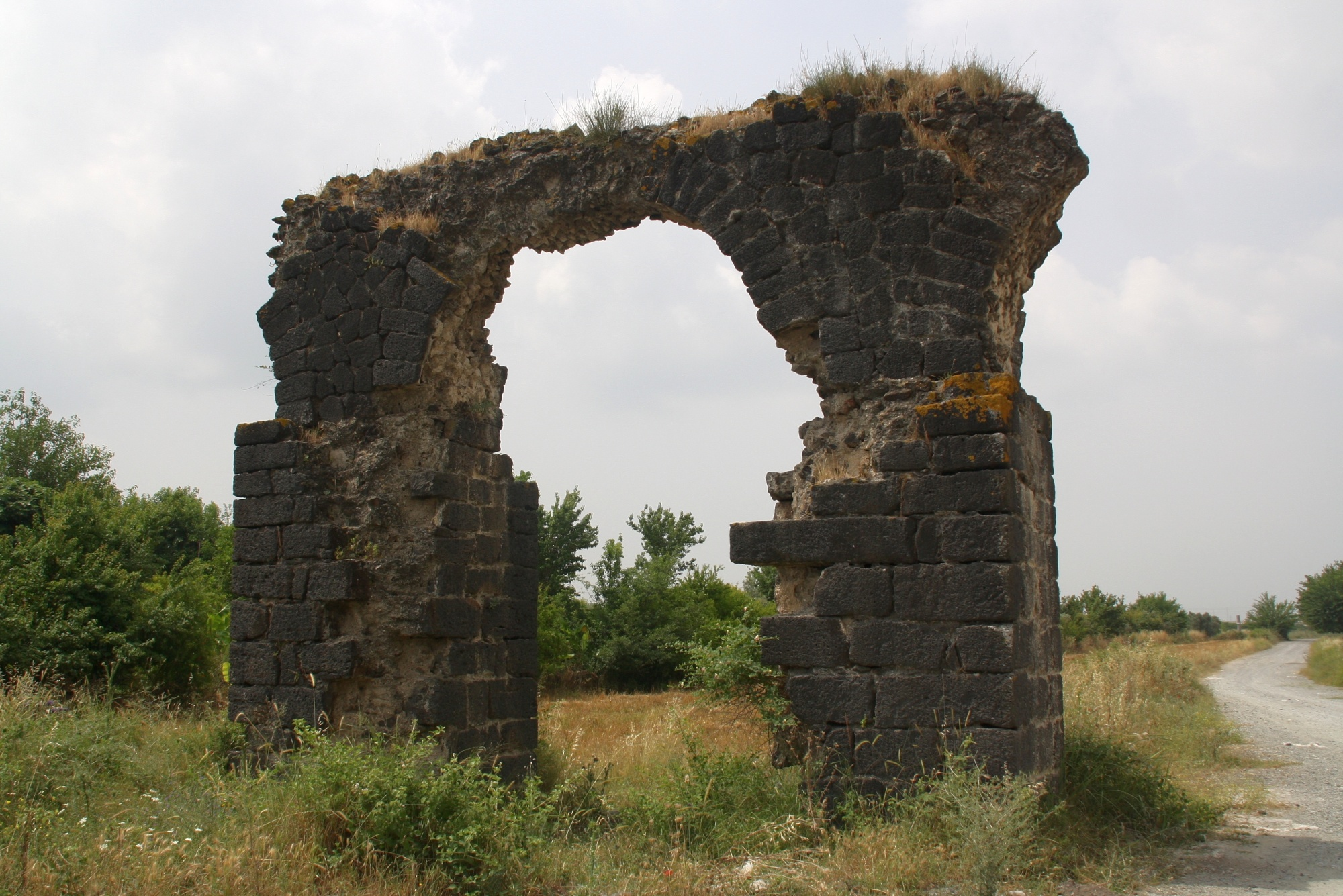 Issus, the Roman aqueduct