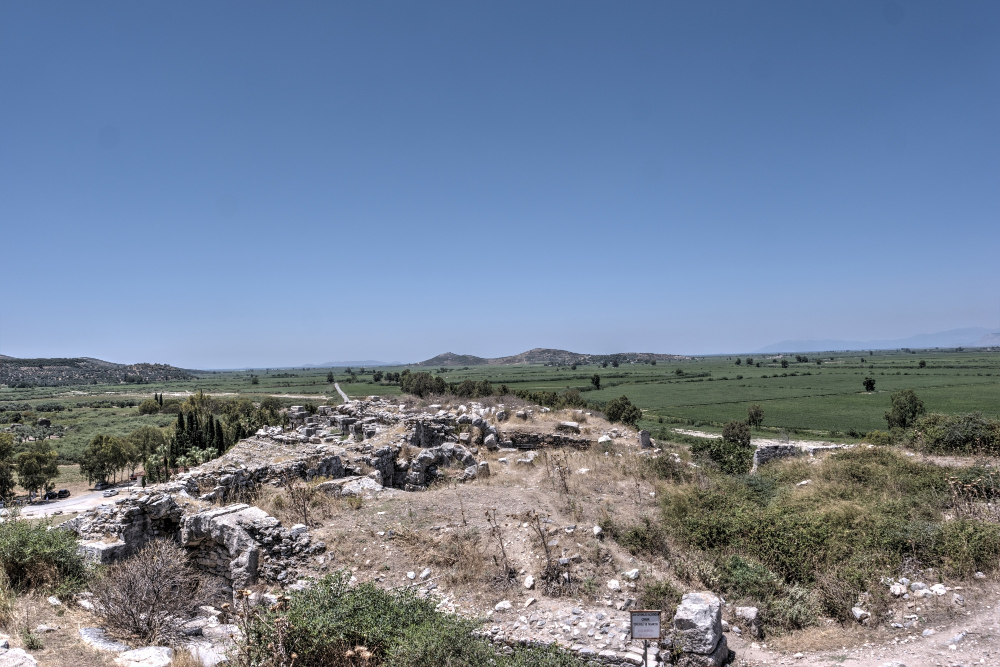 View of Miletus from the Byzantine-Ottoman fortress