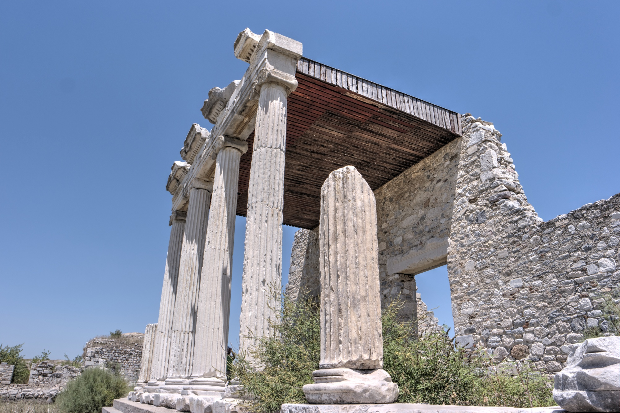 Ionic Stoa in the North Agora in Miletus