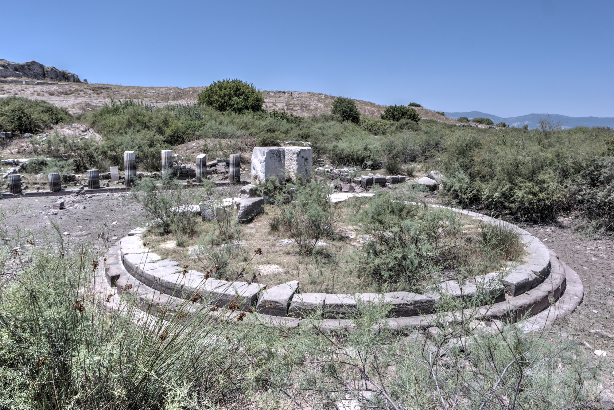 Large Harbour Monument in the Lion Harbour area of Miletus