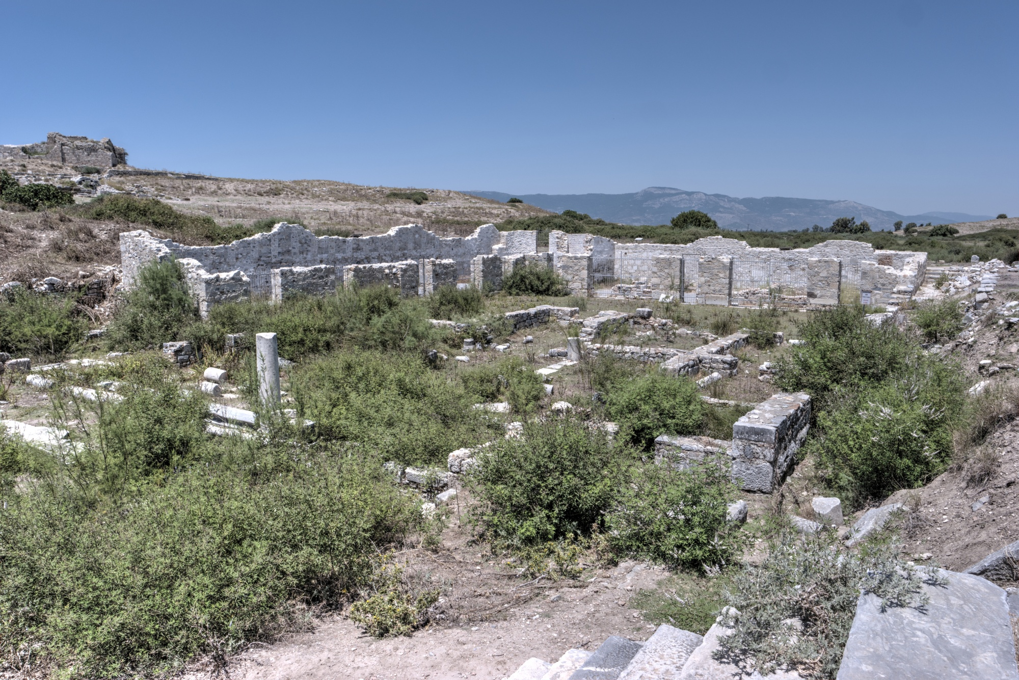 Church of St. Michael and the bishop's palace of Miletus