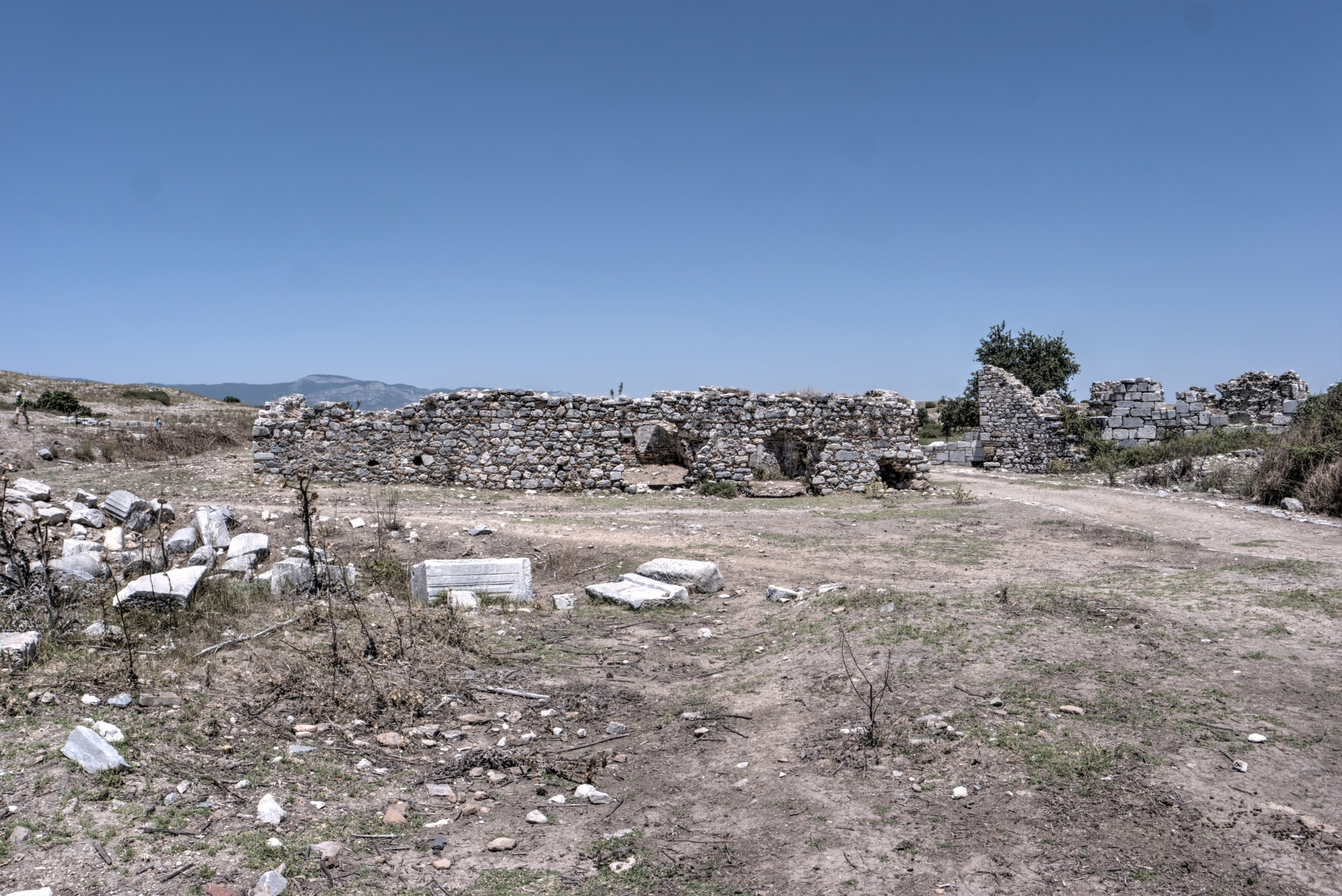 Mosque with Forty Steps and the Seljuk Baths of Miletus