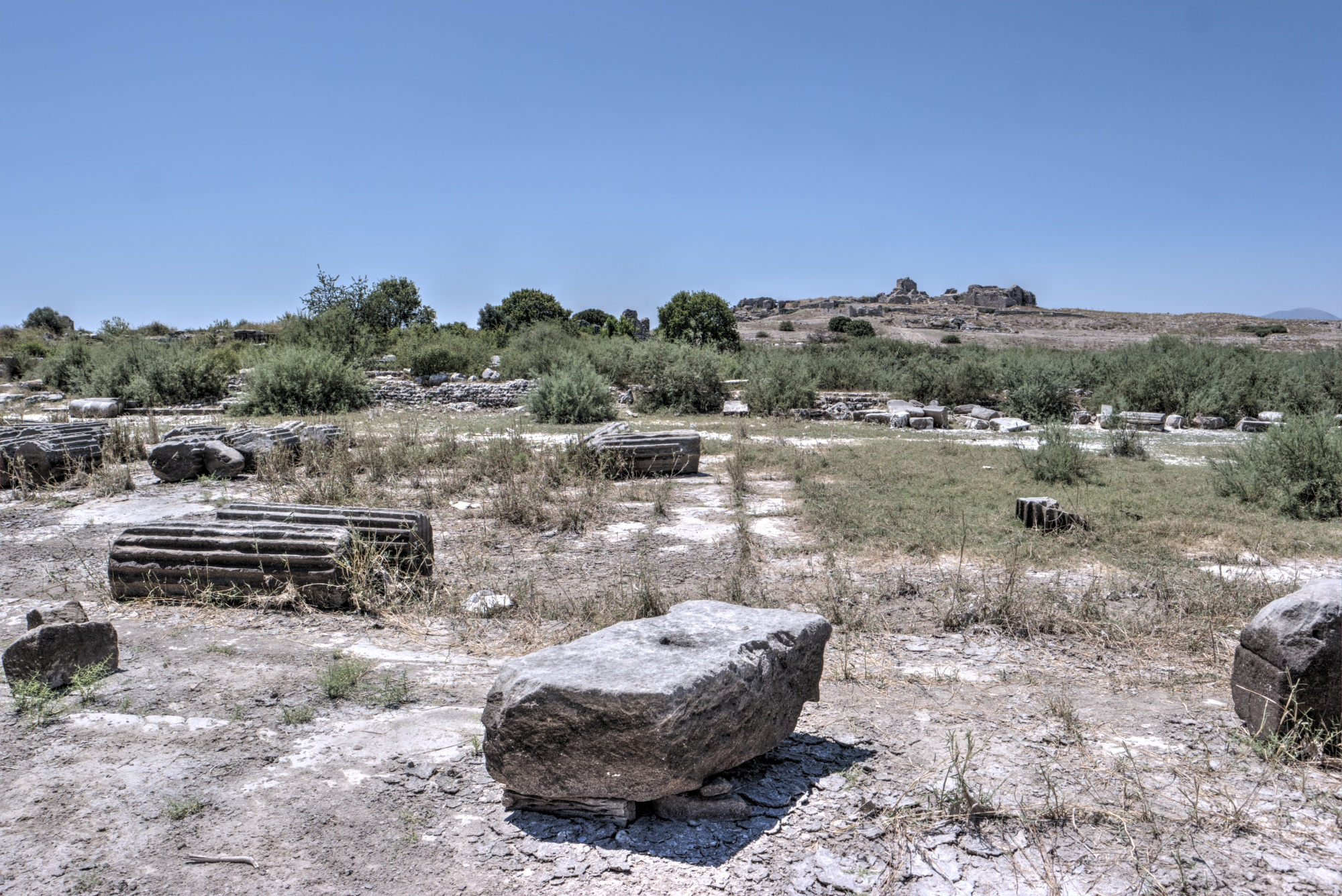 Sacred Road adjacent to the North Agora in Miletus