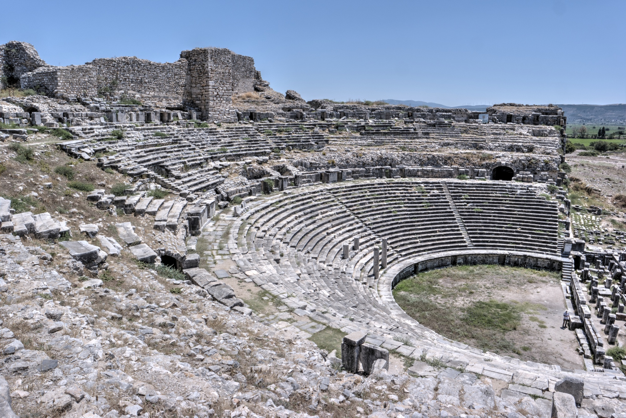 Miletus - the theatre