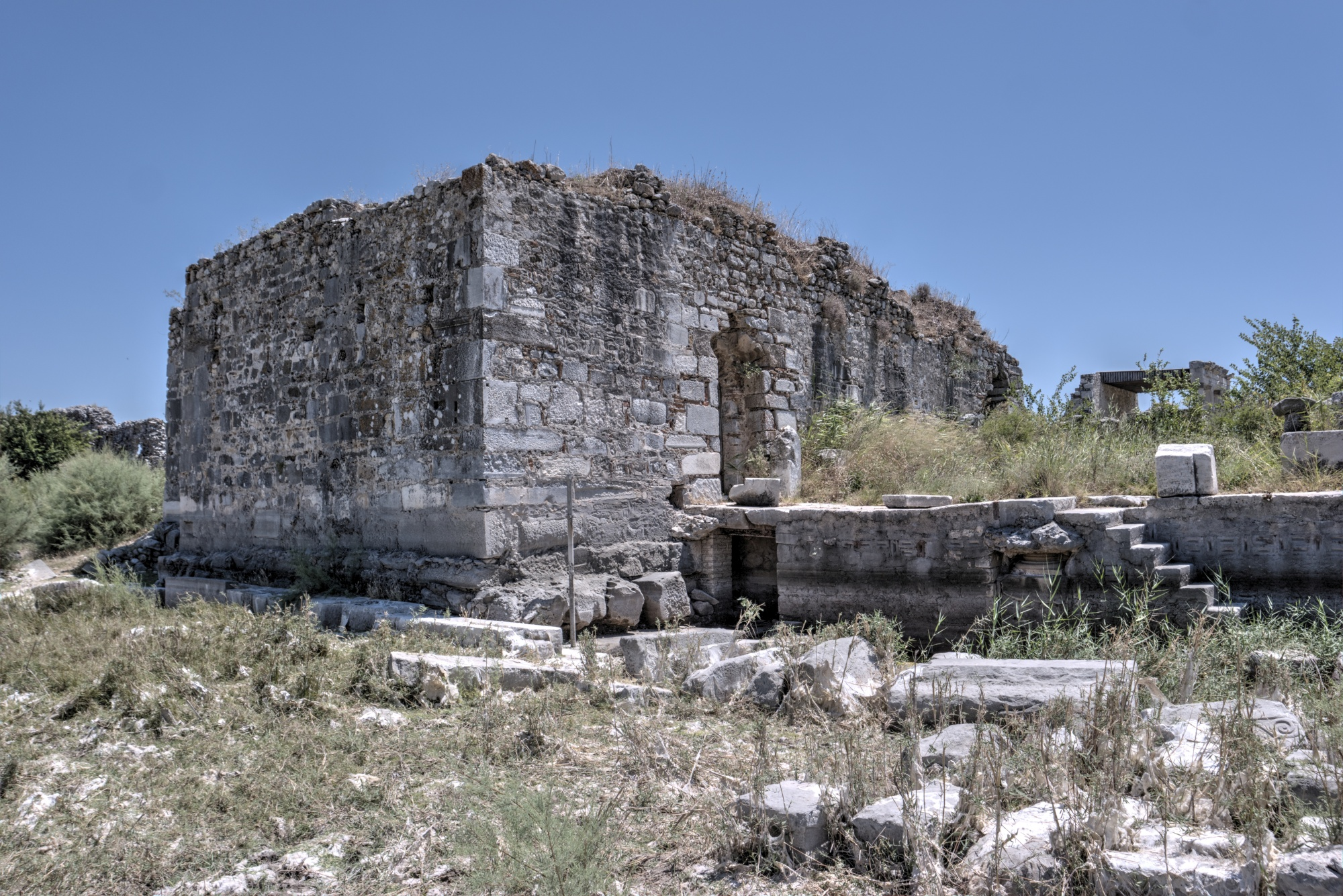 Turkish Baths in the North Agora in Miletus