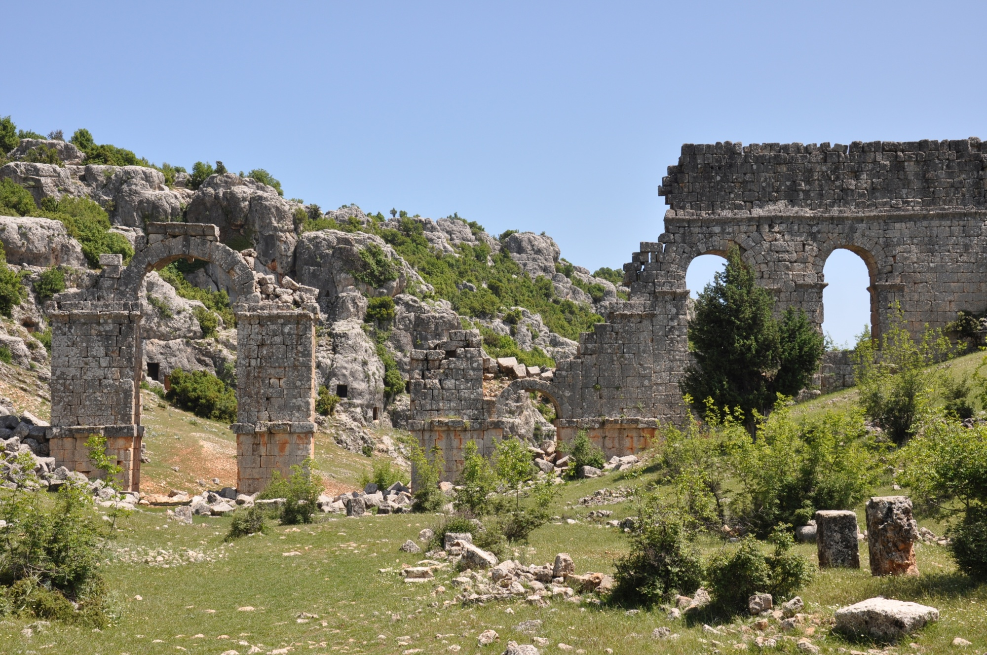 The aqueduct in Olba
