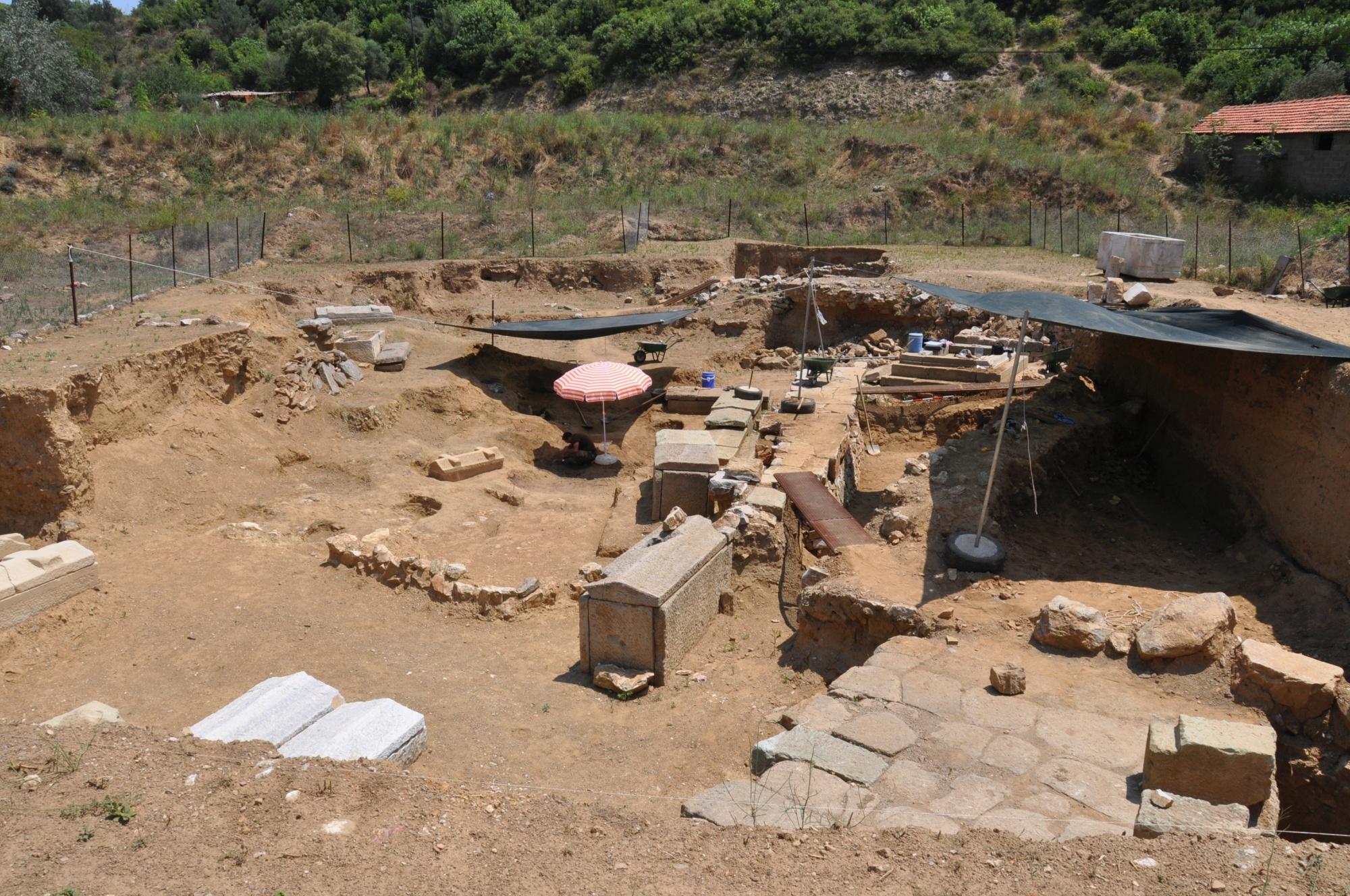 Parion excavations