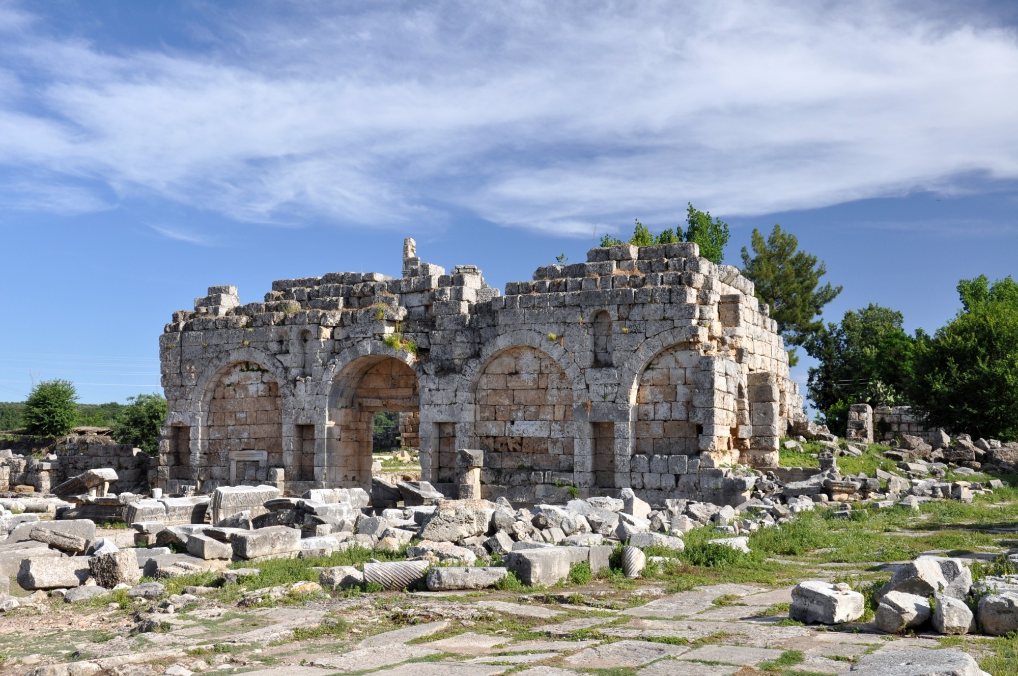 Roman gate in Perge