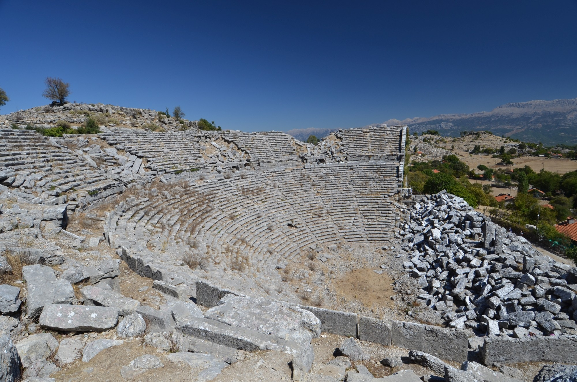 The ancient theatre of Selge