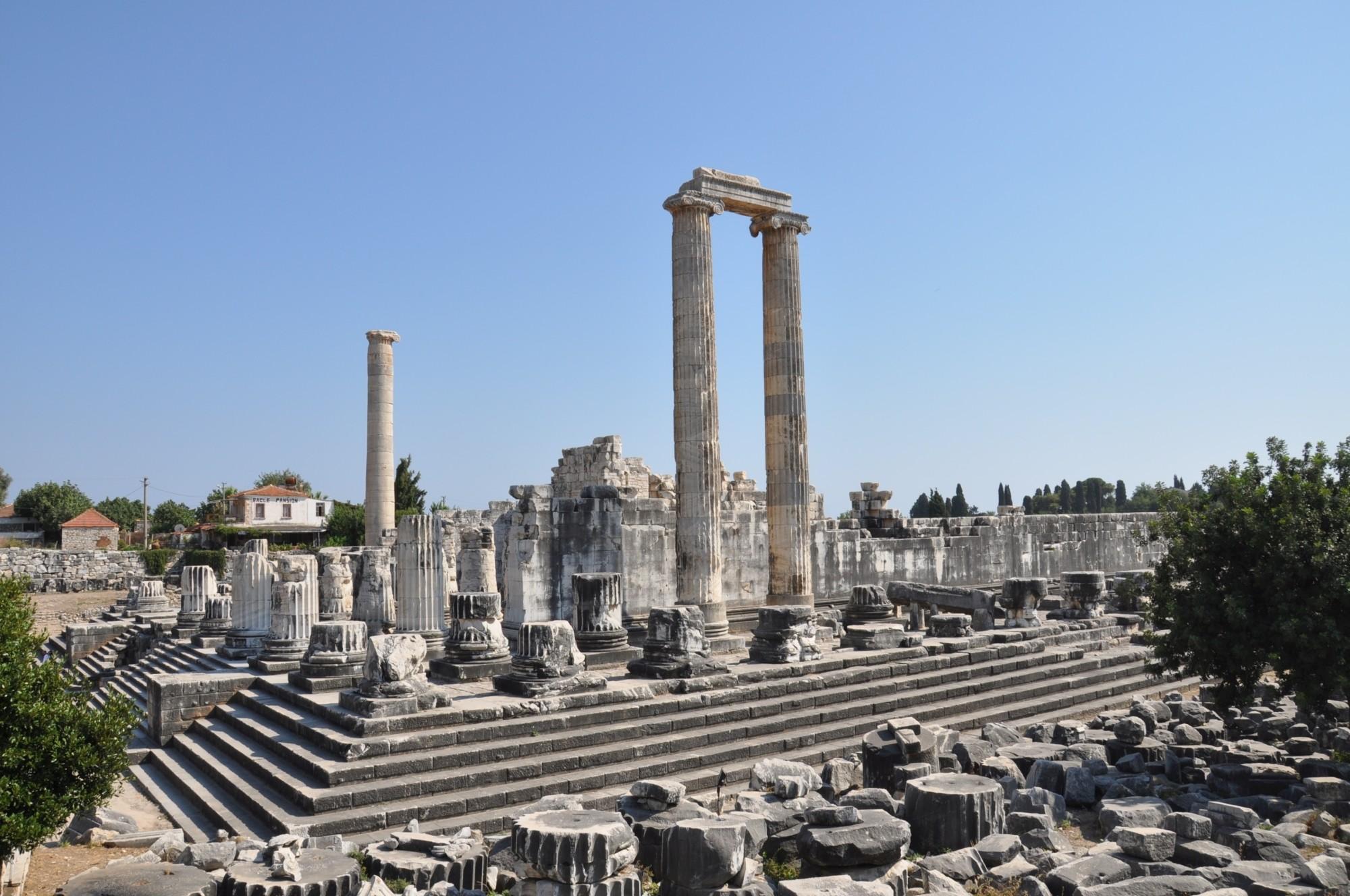 Pantheon Floor Plan Temple Of Apollo At Didyma Turkish Archaeological News