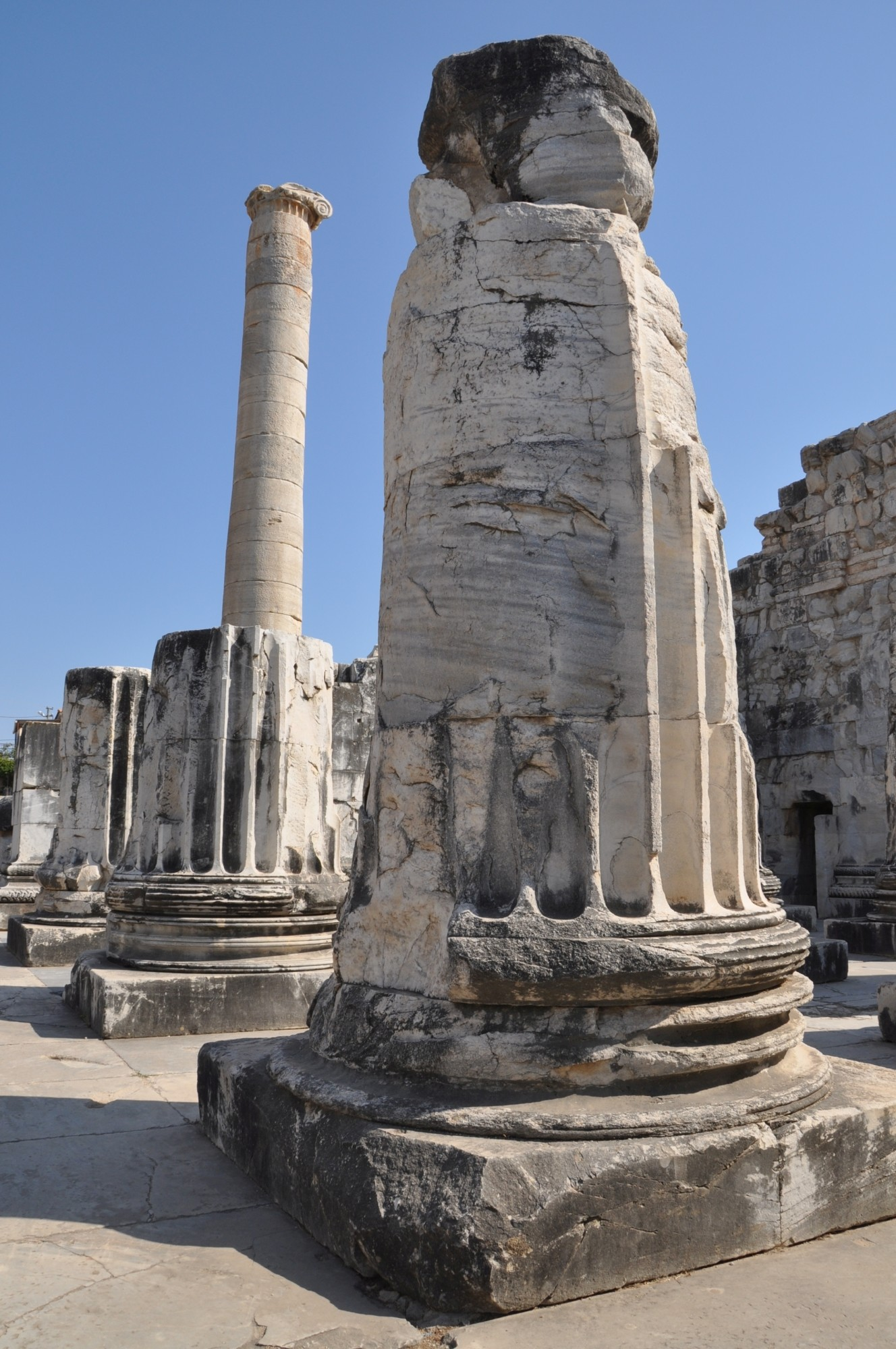 Temple Of Apollo At Didyma Turkish Archaeological News