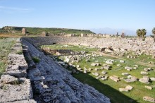 The stadium in Perge