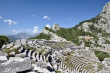 The theatre in Termessos