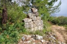City walls in Syedra