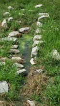 New waterway feeding the quagmire